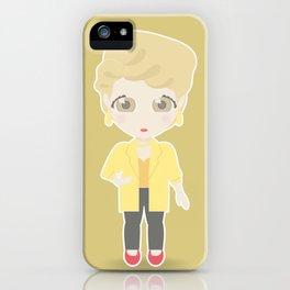 Girls in their Golden Years - Blanche iPhone Case