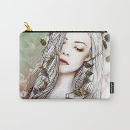 Sun and Roses Carry-All Pouch