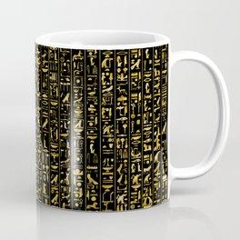 Hieroglyphics GOLD Coffee Mug
