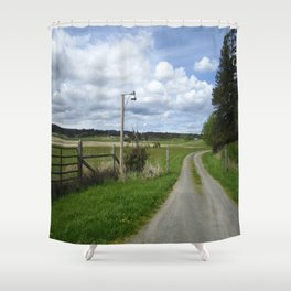 Friday Harbor Shower Curtain