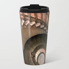 Spiral brown staircase Travel Mug