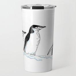 Chinstrap Penguin Trio Travel Mug