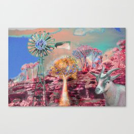 Wind Punk Quiver Heat Canvas Print