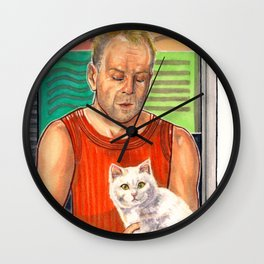 The Fifth Element is Cat Love Wall Clock