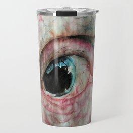 Watercolour Bulbous Eye  Travel Mug