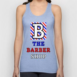The Barber Shop Unisex Tank Top