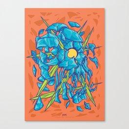(Des)Integration Series - Blueskull Canvas Print