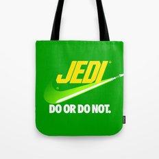 Brand Wars: Jedi - green lightsaber Tote Bag
