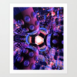 Deep Connectors Art Print