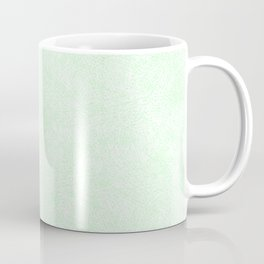 Society6 Home Solid Colors - Orange - Hues - Earth Tones Warm Pastel Colours Pale - Ultra Green 778k Coffee Mug