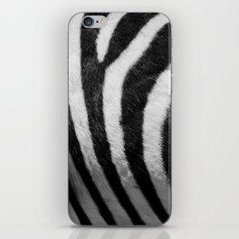 Real Zebra Print iPhone Skin