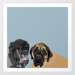 Capo and Gusto Art Print