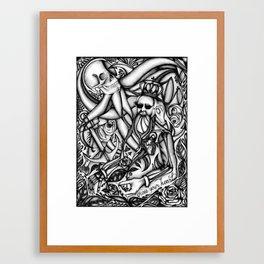 Cross Your Heart Framed Art Print