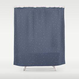 Snow Fall Shower Curtain