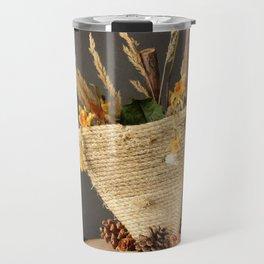 From Trash to Art Travel Mug