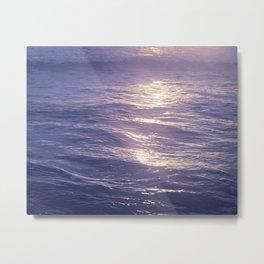 Moonrise Sea, 1 Metal Print