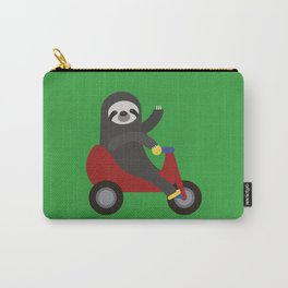 Sloth on Tricycle Carry-All Pouch