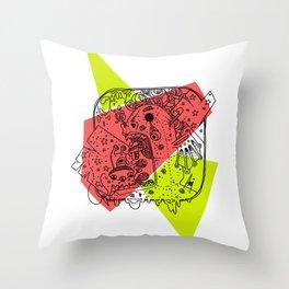 Mini Monster Maxi Monster Throw Pillow