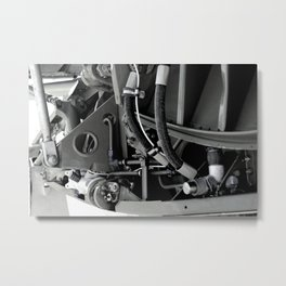 Inside the Wing Metal Print