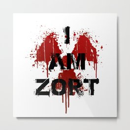 I Am ZORT Metal Print