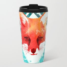 Green fox Travel Mug