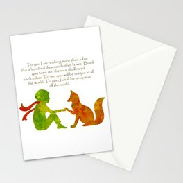 Little Prince Quote Stationery Cards