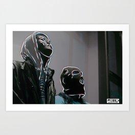 New Generation of Rebels Art Print