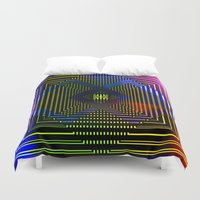 square Duvet Covers featuring Square by Mr & Mrs Quirynen