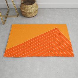 Orange Crush Range Rug
