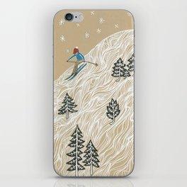 Ole Man Winter iPhone Skin