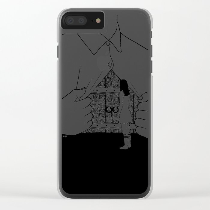 Sorry I'm Closed Clear iPhone Case