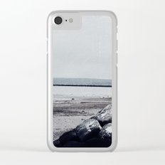 Winter Shore Clear iPhone Case