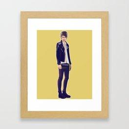wizard!michael Framed Art Print