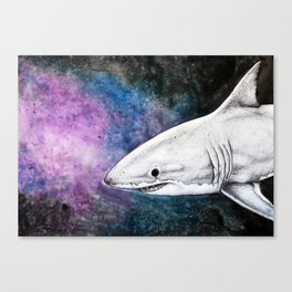 Galaxy Shark Canvas Print
