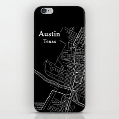 Vintage Austin Negative iPhone & iPod Skin