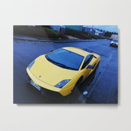 Lamborghini Gallardo Superleggera lp570 Metal Print