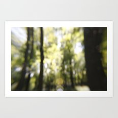 Embrace The Blur Art Print