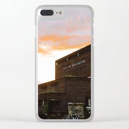 City of Burlington Clear iPhone Case