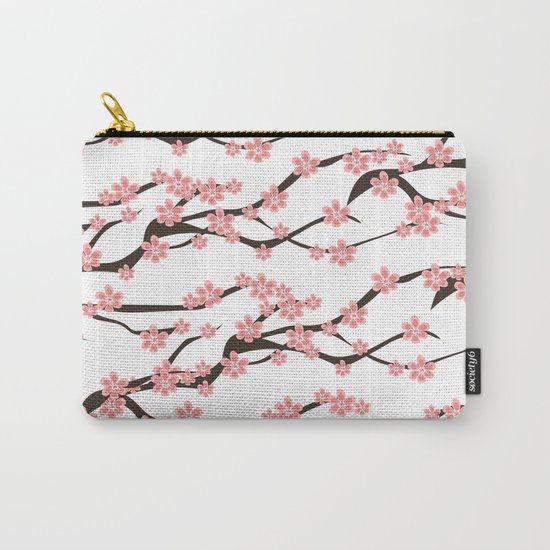 Sakura pattern Carry-All Pouch