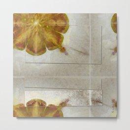 Unmuscular Configuration Flower  ID:16165-031505-06721 Metal Print