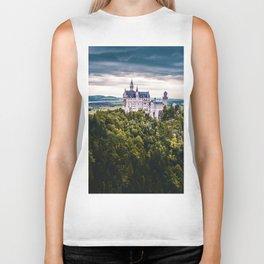 Castle on the Hill (Color) Biker Tank