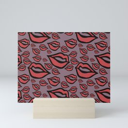 My Lips Are Sealed Mini Art Print
