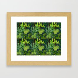 Endless Jungle Framed Art Print