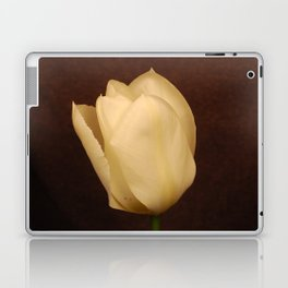 white tulip Laptop & iPad Skin