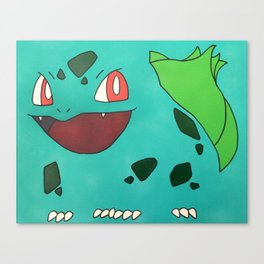 Bulba. Grass-type Canvas Print