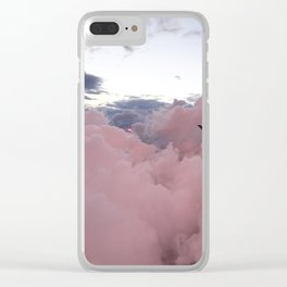 Candy Clouds Clear iPhone Case