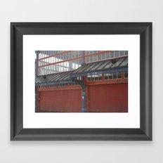 The Market Framed Art Print