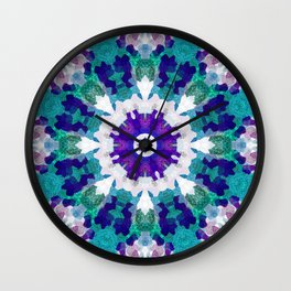MANDALA NO. 1 #society6 Wall Clock