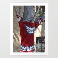Tree Fashion Art Print