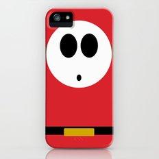 Minimalist Shy Guy iPhone (5, 5s) Slim Case